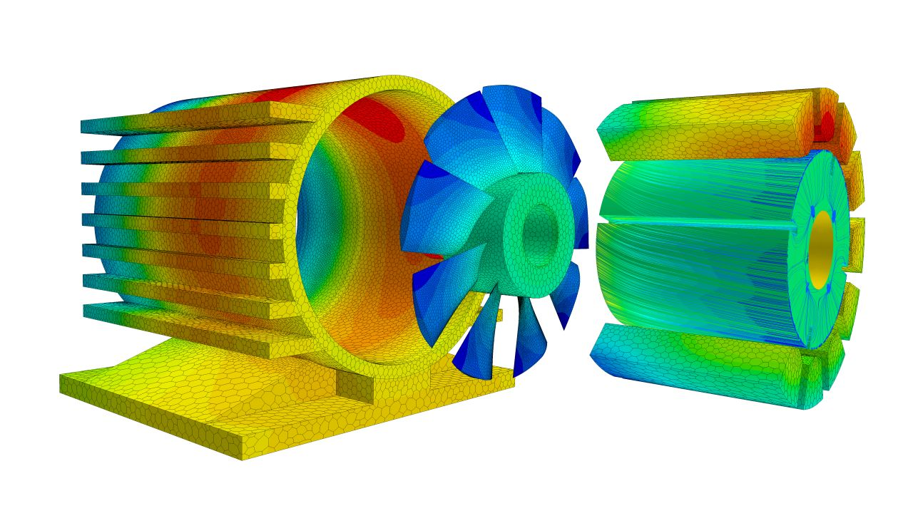 Electric Motor Simulation Using Speed Mdx