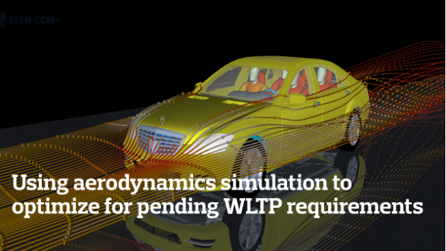 Using aerodynamics simulation to optimize for pending WLTP requirements