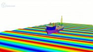 Simulating Systems - FPSO vessel  in rough waves