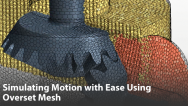 Simulating Motion with Ease Using Overset Mesh