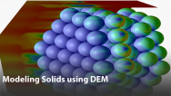 Modeling Solids Conveying Using the Discrete Element Method