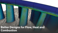 Better Designs for Flow, Heat and Combustion in Coal-fired Power Plants