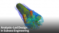 Analysis-Led Design in Subsea Engineering