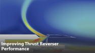 Improving Thrust Reverser Performance through Design Exploration
