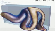 Single Jet Cavity Fill of a Highly Viscous Fluid
