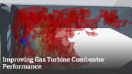 Improving Gas Turbine Combustor Performance through Full-Fidelity CFD Simulations