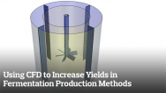 Using CFD to Increase Yields in Fermentation Production Methods