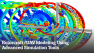 Rotorcraft/UAV Modeling Using Advanced Simulation Tools