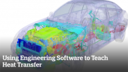 Using Engineering Software to Teach Heat Transfer