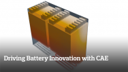 Driving Battery Innovation with CAE