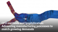 CFD methods and lyophilization: Advancing manufacturing processes to match growing demands