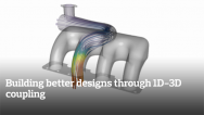 Building better designs through 1D-3D coupling