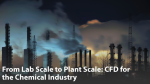 From Lab Scale to Plant Scale: CFD for the Chemical Industry