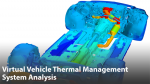 Virtual Vehicle Thermal Management System Analysis for Component Temperature Prediction
