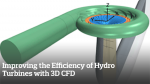 Improving the Efficiency of Hydro Turbines with 3D CFD