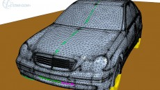 Surface wrapping of a C-Class