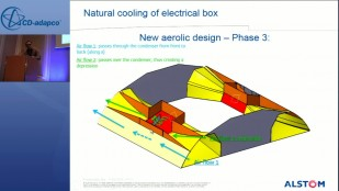 Aeraulic Optimization of an Electrical Box Cooling