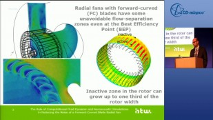 The Role of Computational Fluid Dynamic & Aeroacoustic Simulations in Reducing the Noise of a Forward-Curved Blade Radial Fan