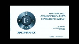Flow Topology Optimization of a Turbochargers' Inflow Duct