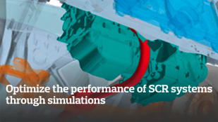 Optimize the performance of SCR systems through simulations