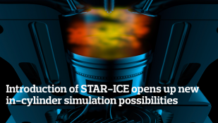 Introduction of STAR-ICE opens up new in-cylinder simulation possibilities