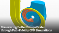 Discovering Better Pumps Faster through Full-Fidelity CFD Simulations