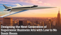 Designing the Next Generation of Supersonic Business Jets with Low to No Sonic Boom
