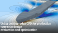 Using cutting-edge CFD for production type ship design evaluation and optimization
