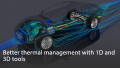 Better thermal management with 1D and 3D tools